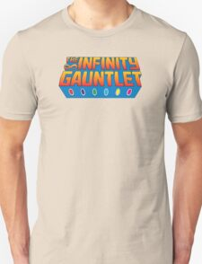 Infinity Gauntlet - Classic Title - Clean Unisex T-Shirt
