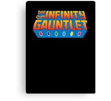 Infinity Gauntlet - Classic Title - Clean Canvas Print