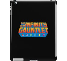 Infinity Gauntlet - Classic Title - Clean iPad Case/Skin