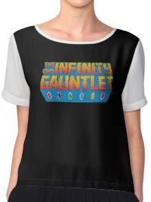 Infinity Gauntlet - Classic Title - Dirty Chiffon Top