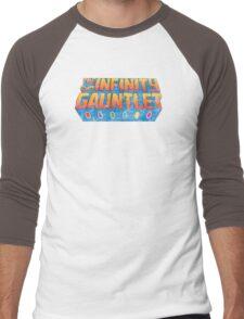 Infinity Gauntlet - Classic Title - Dirty Men's Baseball ¾ T-Shirt