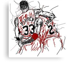 Flu Game Canvas Print