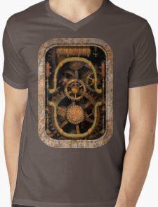 Infernal Steampunk Machine #1 T-shirt / Stickers Mens V-Neck T-Shirt