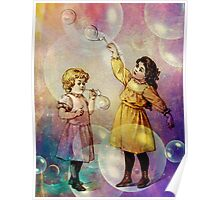 FUN IN BUBBLE LAND Poster