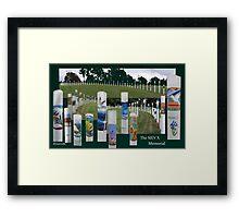 The SIEV X Memorial  (please read) Framed Print