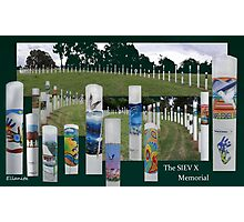 The SIEV X Memorial  (please read) Photographic Print