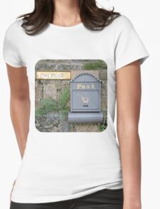 Postbox  at Pine Ridge  Womens Fitted T-Shirt