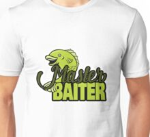 Funny Fishing Master Baiter Word Play Pun Unisex T-Shirt