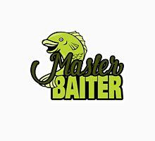 Funny Fishing Master Baiter Word Play Pun Unisex T-Shirt