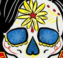 Wonder Woman Sugar Skull Sticker