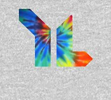 younglife tie dye logo Womens Fitted T-Shirt