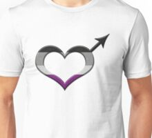 Asexual Pride Male Gender Symbol Unisex T-Shirt