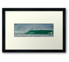 Hollow Pipe Framed Print
