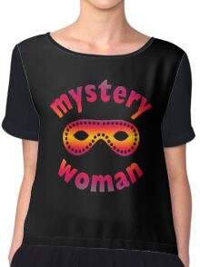 Being The Mystery Woman Chiffon Top