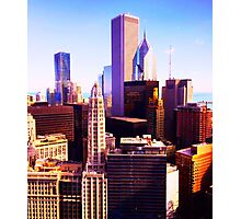 City in Color Photographic Print