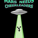 MARS NEEDS CHEERLEADERS by myacideyes
