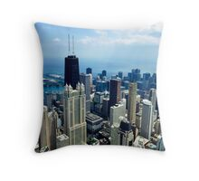 Heli Views Throw Pillow