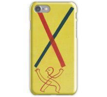 The Little Line Man iPhone Case/Skin