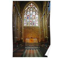 Altar—Saint David's Cathedral, Hobart Poster
