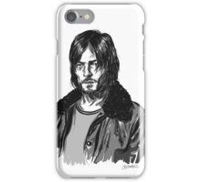 Grayscale Reedus iPhone Case/Skin