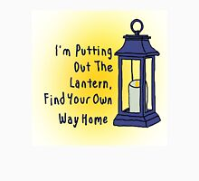 Putting Out The Lantern Unisex T-Shirt
