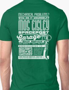 Mos Eisley Spaceport Garage and Repair Shop Unisex T-Shirt