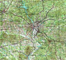 USGS TOPO Map Alabama AL Phenix City 305933 1955 250000 Sticker
