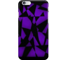 Triangular Fragments (Purple) iPhone Case/Skin