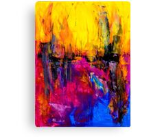 "Original Abstract Art ""In The Distance"" Canvas Print"