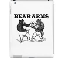 Bear Arms - A Right and a Left iPad Case/Skin