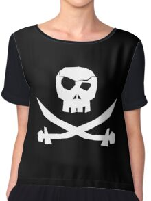 To Err Is Human...To Arr is Pirate Chiffon Top