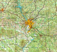 USGS TOPO Map Alabama AL Phenix City 305934 1955 250000 Sticker