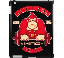 donkey king gym iPad Case/Skin