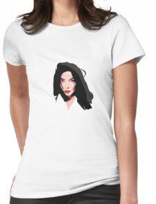 Bjork Womens Fitted T-Shirt