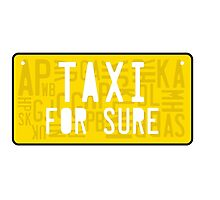 Fake Taxi Photographic Print