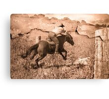 Leap into the Picture Canvas Print