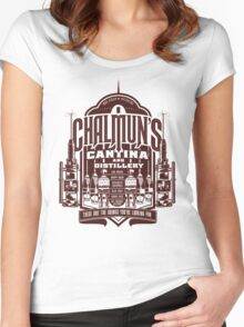 Chalmuns Cantina and Distillery Women's Fitted Scoop T-Shirt
