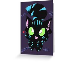 We're All Adorable here! Greeting Card