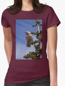 Clark's Nutcracker in a Fir Tree Womens Fitted T-Shirt