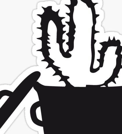 Eat Well saucepan cook restaurant desert cactus survive survival hungry Sticker