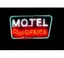 motel office Photographic Print