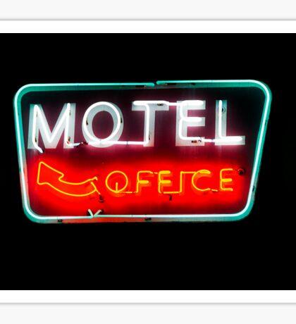motel office Sticker