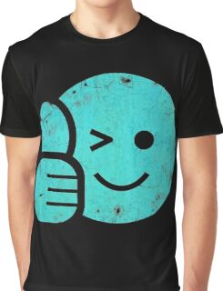 Thumbs Up - Smiley Face Graphic T-Shirt