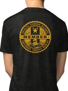 Galactic Starship Alliance Tri-blend T-Shirt