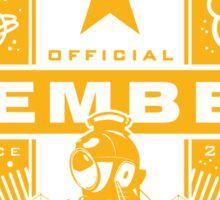 Galactic Starship Alliance Sticker
