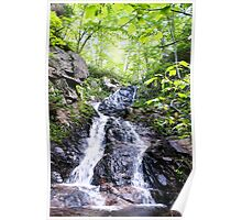 Relaxing Waterfall Poster