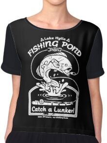 Fishing Pond Chiffon Top