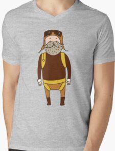 Pilot Mens V-Neck T-Shirt