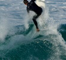 surfn shelly 1 Sticker