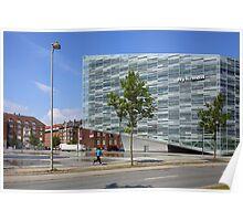 Commercial Architecture, Copenhagen, Denmark Poster